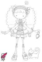 frilly sweet lolita by DejiNyucu