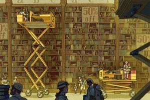 Elevating Cart by AfuChan