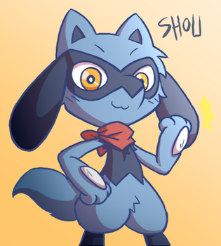 Shou the Riolu by RakkuGuy