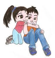 Me and Brother by Tiffyx