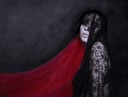 lace 2 - red bride by iceravenblack