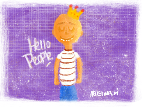 Little King | Inspired on AndreaGa Little Monsters by kxtty-cutie