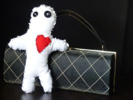 Ghostly Apparitions, Voodoo doll in plain by TimAndBenDolls