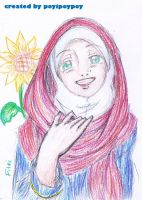 Fitri with Shawl by pOy95