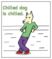 DOODLE - CHILLED DOG by kit07