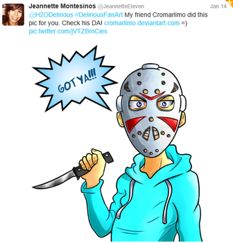 Fan art by Cromarlimo by H2ODelirious