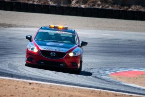 Mazda6 Pace Car at Laguna Seca by SharkHarrington