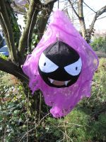Emmy the Gastly plush by JaninaKeks