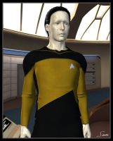 Lieutenant Commander Data by celticarchie