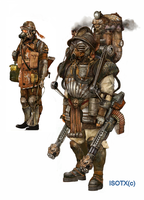 Heavy Infantry Designs by Monkey-Paw