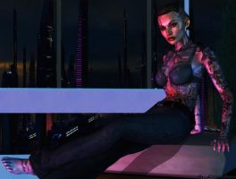 Mass effect wallpaper 22 - Jack 9 by ethaclane