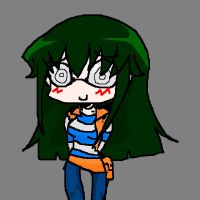 Carly chibi - MSPaint by DylanIsntHere