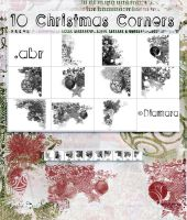 10 Christmas Corners by Diamara