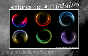 Textures Set 01: Bubbles by gianpino