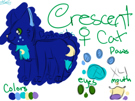 Crescent Reference Sheet by MintIeafs