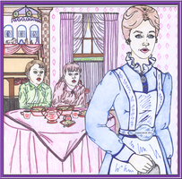 Collab - Mary Poppins Colored by WDWParksGal