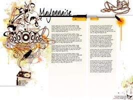 Mayonnaise Web Layout by i-bleed-ink