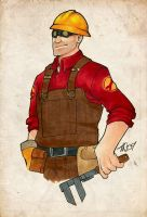 Engie in Markers by dust-bite