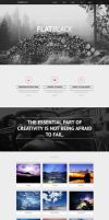 Flatblack - One Page Muse Theme by styleWish