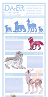 Daer Species Guide by Lord-StarryFace