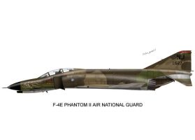 F-4 Air National Guard Print02 by peter-pan03