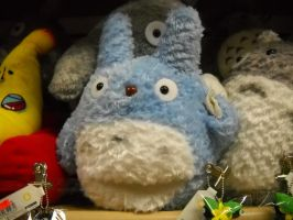 Blue Totoro by ive1always1loved1you