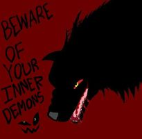 Wolf Demon by Coco-Art-92