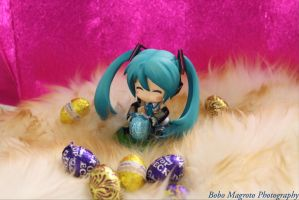 Miku Easter 2014 by BoboMagroto