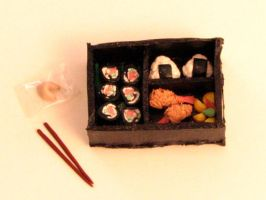 Miniature Bento Box by KatHart