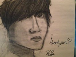 Soohyun Practice (feedback please) by KiaLawliet