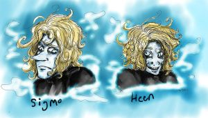 Heen And Sigmo by Honey-Bea