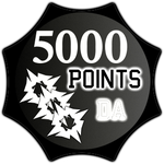 5000 Points by TheRedCrown