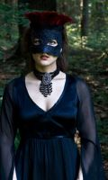 Black Lace Stare by eyefeather-stock