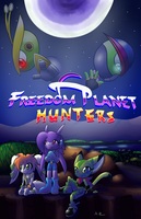 Freedom Planet Hunters - Comic Concept/Cover? by Paragon-Yoshi