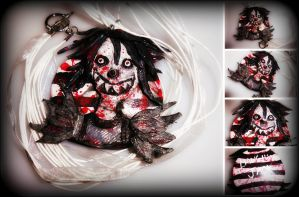 Laughing Jack Pendant Collage by xoKittyMaruxo