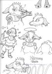 DreamKeepers: Harmony Treble drawings by S-D-F-Studios