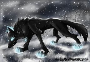 Snow flooded field by Shadowphoenix21