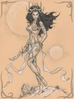 Dejah Thoris by MichaelDooney
