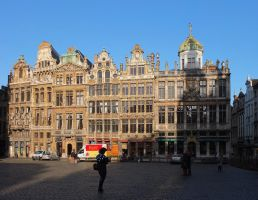 Guild Houses by Smaragd01
