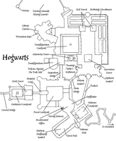 Hogwarts Castle Plan by decat