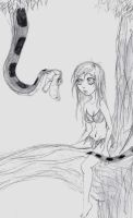 Kaa and Mikomi's First Encounter 2 by hypnotica2002