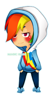 Rainbow Dash by Magicharu