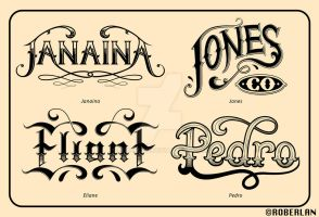 More Crazy Typography by roberlan