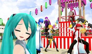 MMD - Festival Gone Wrong by 1KaitoShion