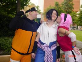 Team 7 cosplay by queenofcats81