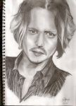 johnny depp by Ellenoric