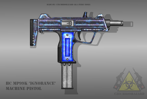 Fictional Firearm: HC-MP99K Machine Pistol by CzechBiohazard