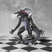 Chess: True Black Rook by TakemaKei
