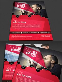 Corporate Modern Flyer / Ad Template by kaya205