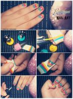 Rainbow Nail Art Tutorial by friabrisa